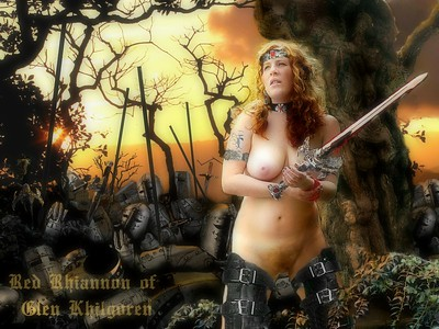 Art - Iron-Age Goddess Series