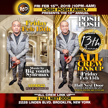 2-15-2019-BROOKLYN-Posh Posh Family Annual All Crew Link Up