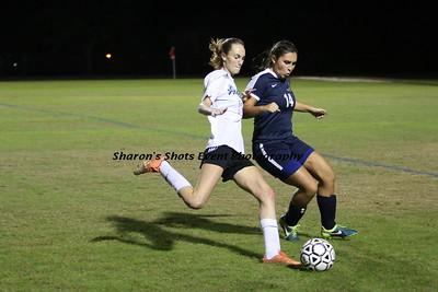 Girls Soccer v University (Senior Night)