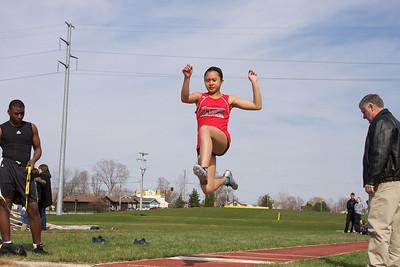 2011, April 21 East Kentwood Track vs. Jenison