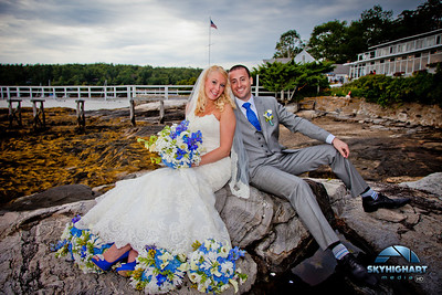 MIKE AND HILLARY WEDDING BOOTHBAY HARBOR MAINE