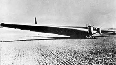 The Junkers Ju 322 Mammut, Rocket assist Glider