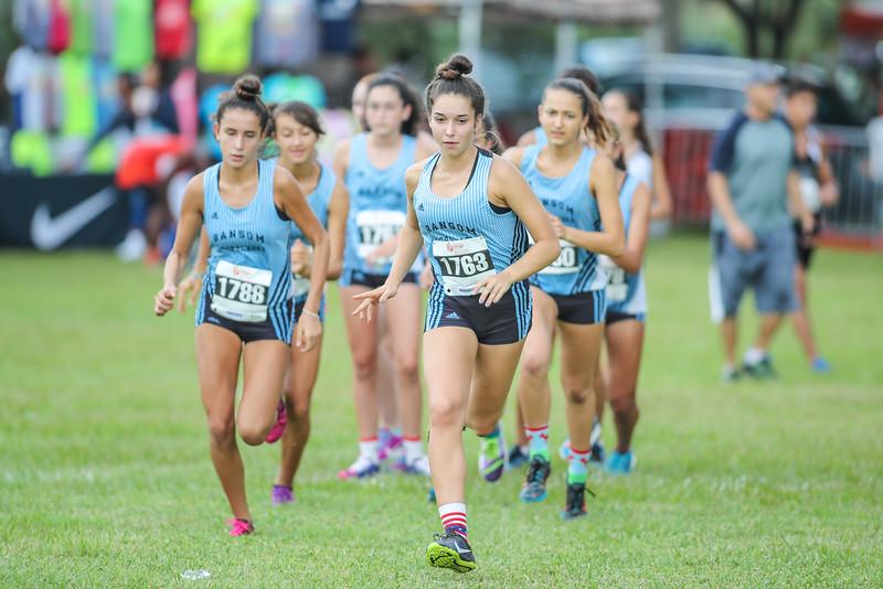 Ransom Everglades Girls Cross Country, 2016 Jr. Orange Bowl