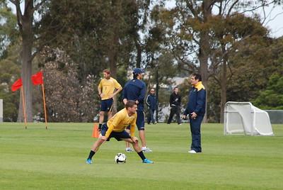 2009-10-12 Socceroos train at Monash