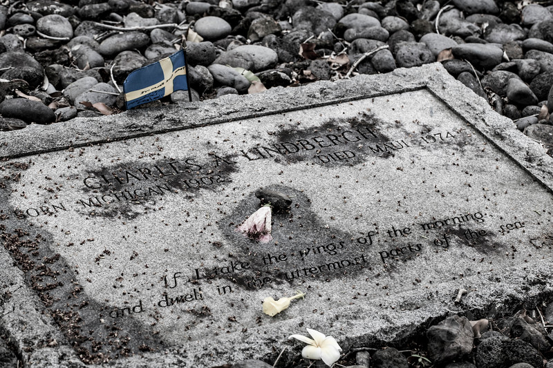 Charles Lindbergh Grave