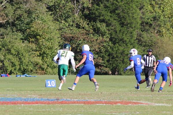 Junior Prep Football vs. Collegiate School - Oct 18