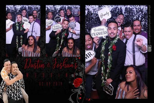 Dustin & Joshua's Wedding (Magic Mirror Photo Booth)