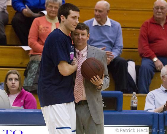 2012-02-16 Hillsdale College Men's Basketball vs. Ohio Dominican
