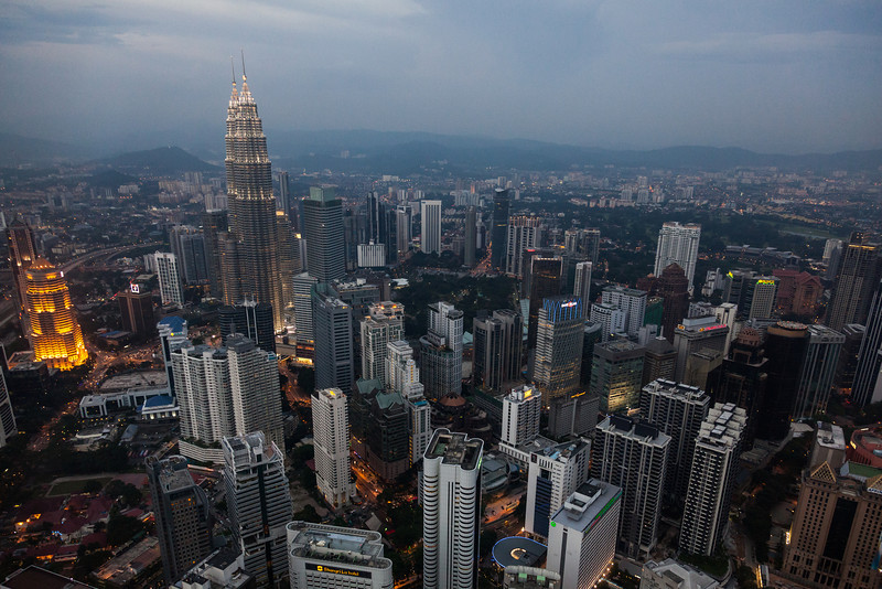 View from KL Tower, Kuala Lumpur