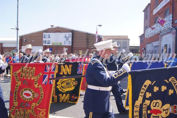 36th Regimental Bands Assoc. Memorial Parade