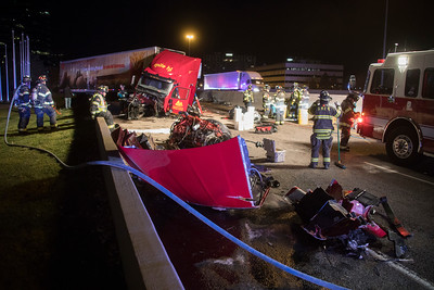 I-25 and Belleview Semi Accident