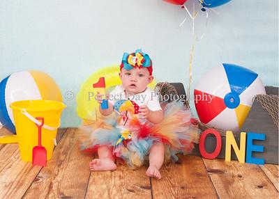 Brielle's first birthday