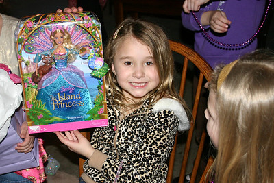 2008 - Livie's 6th Birthday