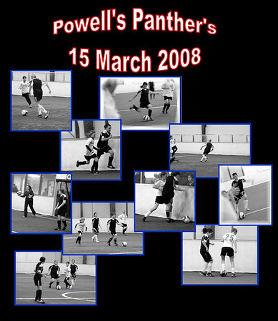 Powell's Panthers_15 March vs Crossfire Stengrund