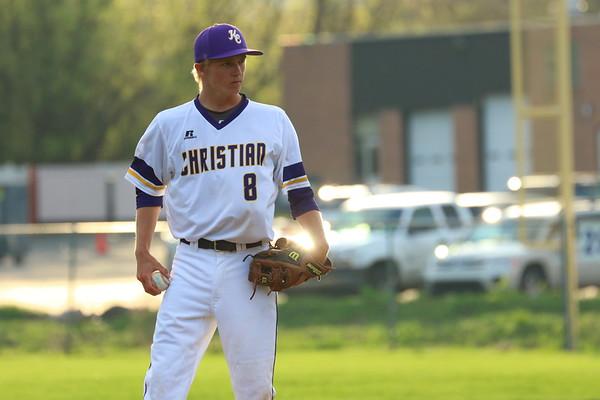 Baseball vs. Hackett - KCHS - 4/20/17