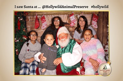 Hollywild Santa Photos - 112819