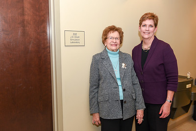 J.D. Elliott Simulation Lab Dedication