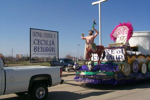 2001 - Krewe of Centaur Mardi Gras Parade