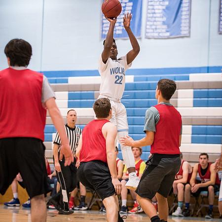 SBHS Basketball Scrimmage v. Mill River 12.7.17