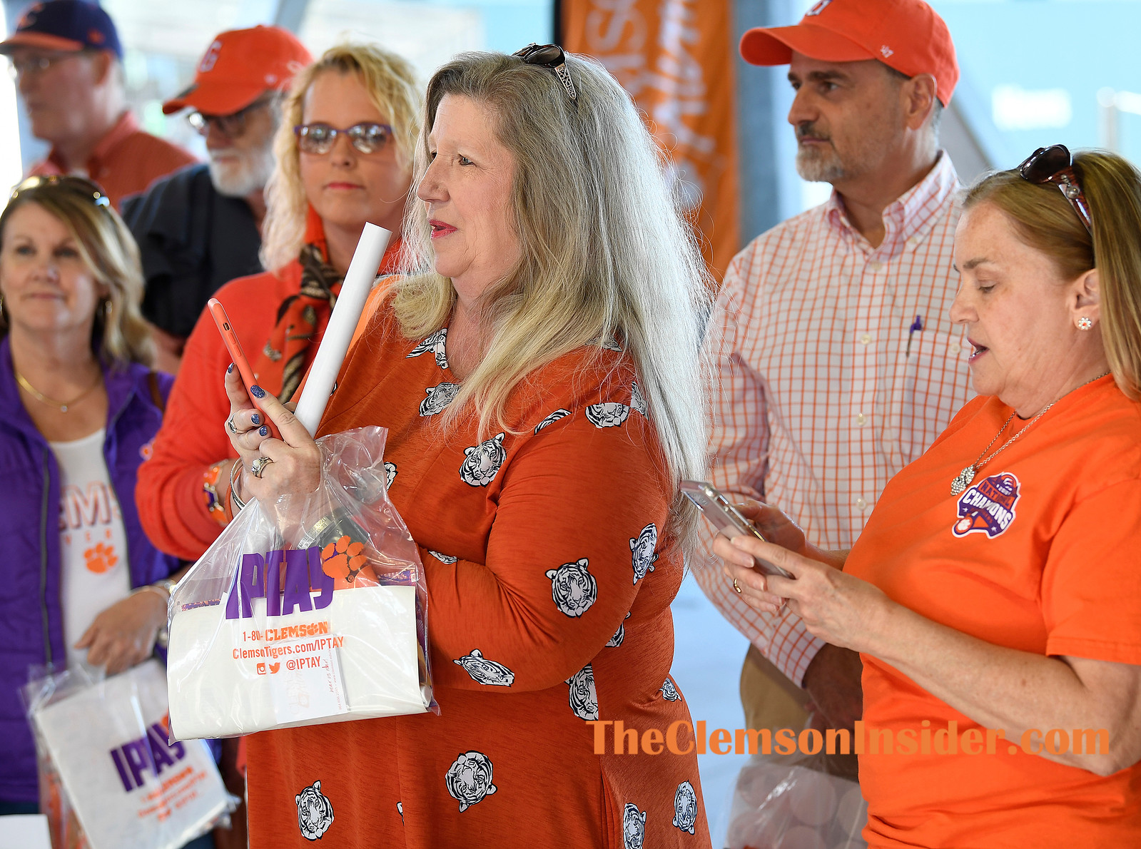 The Greenville County Clemson Club held its annual Prowl and Growl Monday, April 15, 2019 at Fluor Field in downtown Greenville. Bart Boatwright/The Clemson Insider