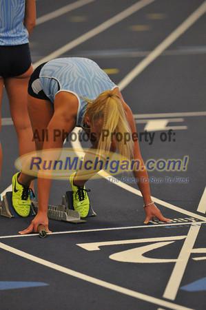 Women's 4x400 Relay - 2014 GLIAC Indoor Meet