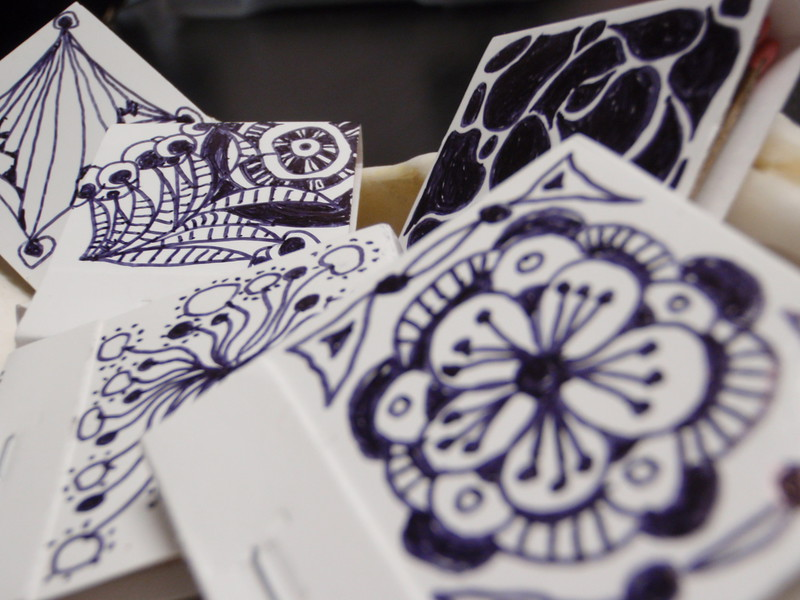 matchbook doodles by desiree east