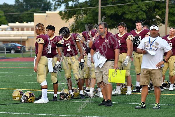 Governor Mifflin vs West York High School Football 2017 - 2018