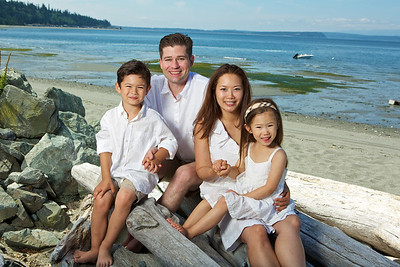 Jones Family Session - Whidbey Island Vacation 2012