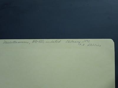 MISC Notes & FB Stebbins Obituary