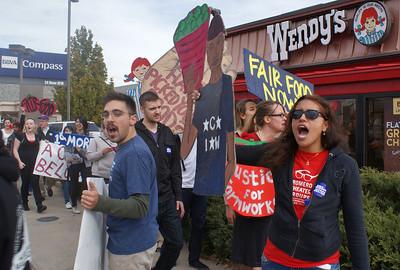 Wendy's/Fair Food Program Protest - 11/8/13