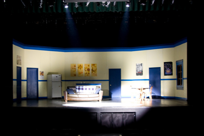 """UHS Theatre Dept. presents, """"The Boys Next Door""""."""