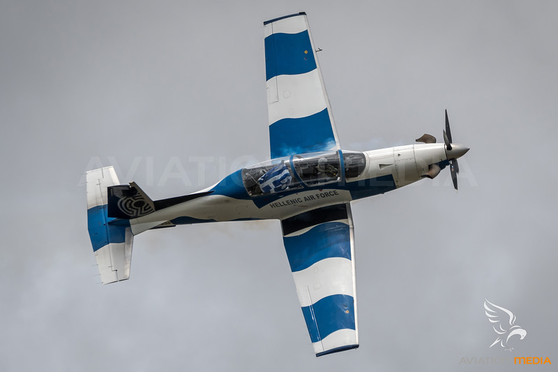 Hellenic Air Force / Beechcraft T-6 Texan II / 036 / Deadalus Livery