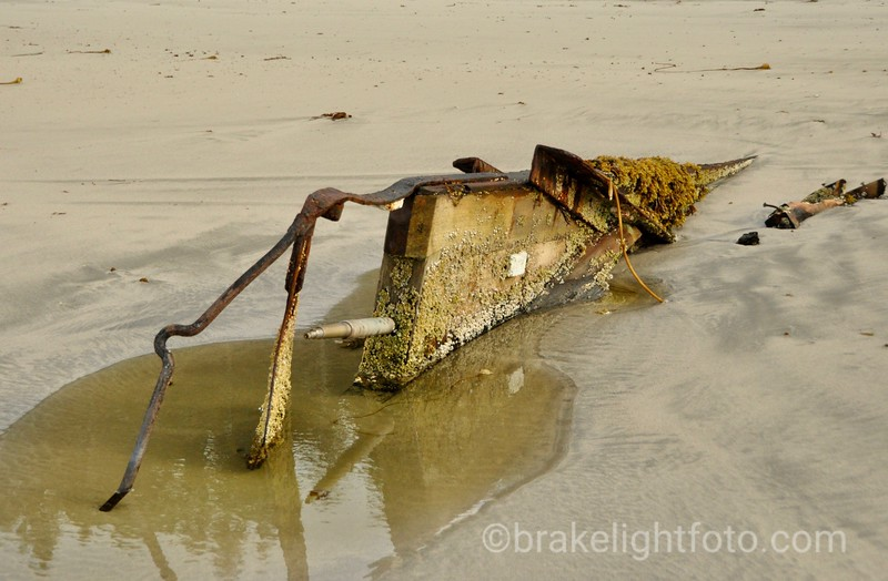 Old Boat Wreck on Lepas Bay