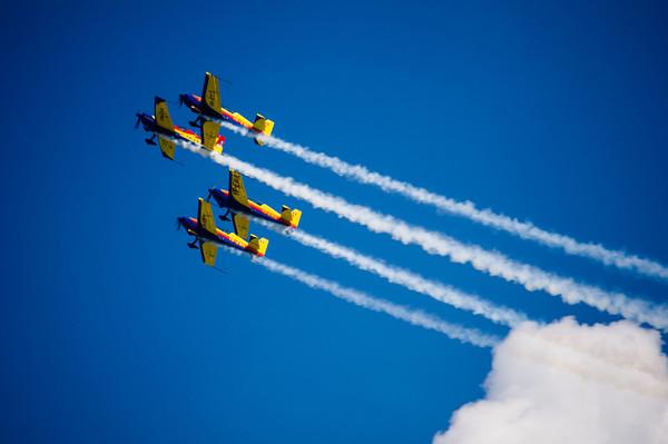 Air show, Cluj-Napoca, Romania