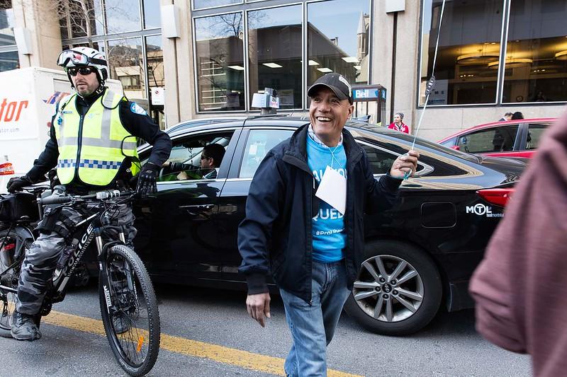 Manifestation / Protest for Uber Quebec