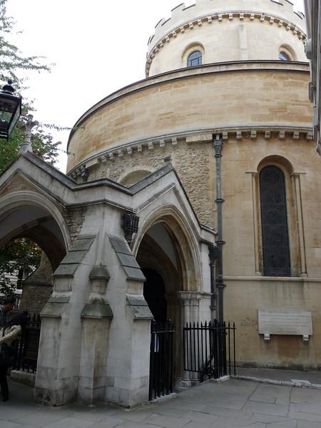 Original church built 1185 by Knights Templar