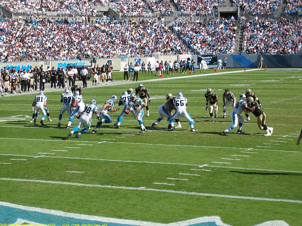 Panthers vs. Saints October 5th 2003