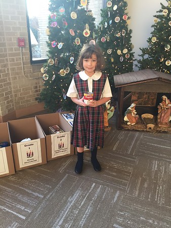 Advent Food Pantry Collection