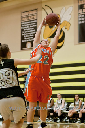 Boone Girls JV Basketball #3 - 2011