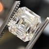 2.89ct Antique   Asscher Cut Diamond GIA I VS2 2