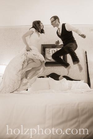 Tina & Andrew Creative Wedding Photos