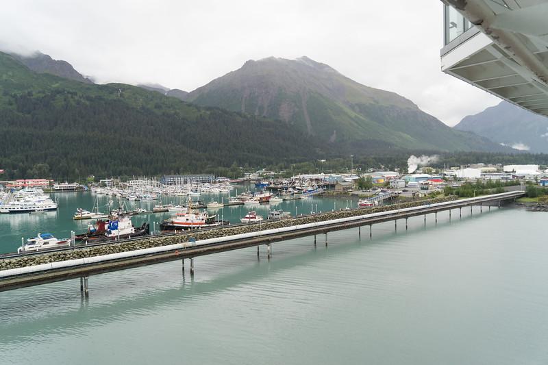Seward, AK harbor