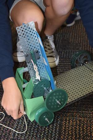 PreK Visits 7th Grade Robotics