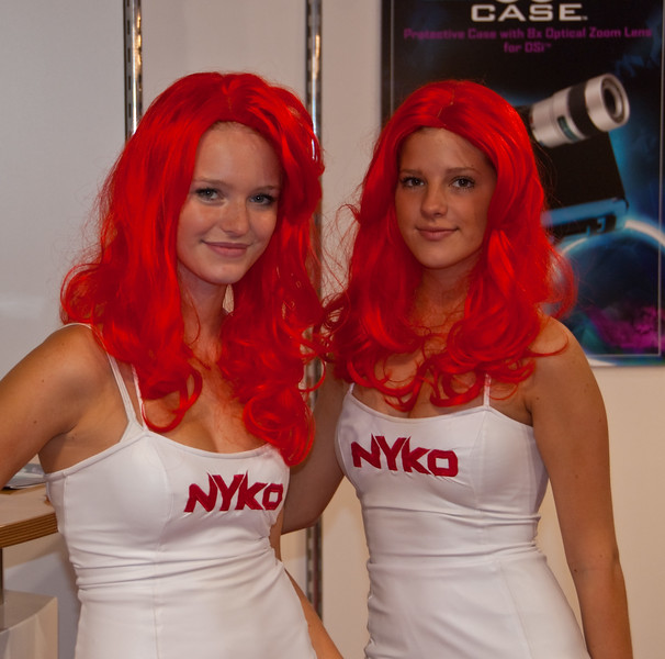 Nyko girls at GamesCom