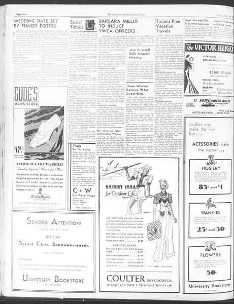 Daily Trojan, Vol. 28, No. 146, May 28, 1937