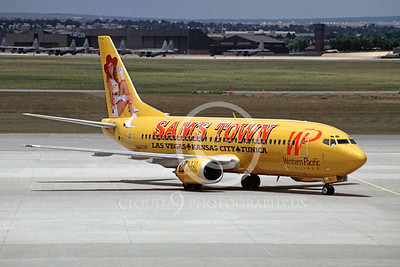 Western Pacific Airline Boeing 737 Airliner Pictures