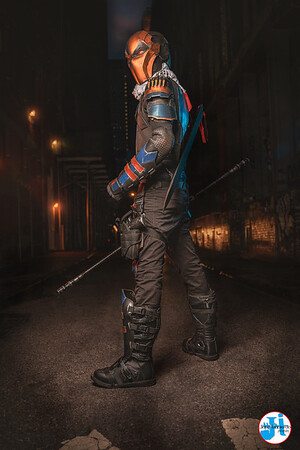 @_crisiscosplay Deathstroke Photoshoot Canal St. October 2020