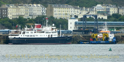 Hebridean Princess at Douglas - 2017