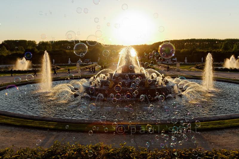 Latona fountain, Palace Gardens, Versailles.