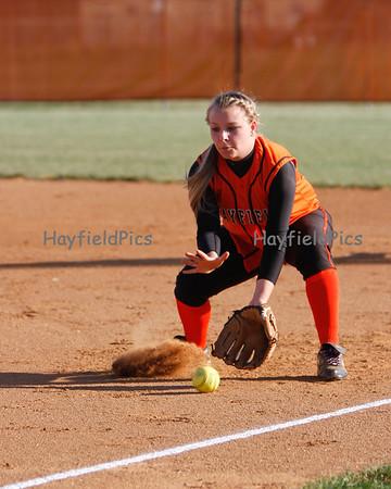 Softball Yorktown 4/13/12